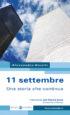 Copertina del libro 11 settembre