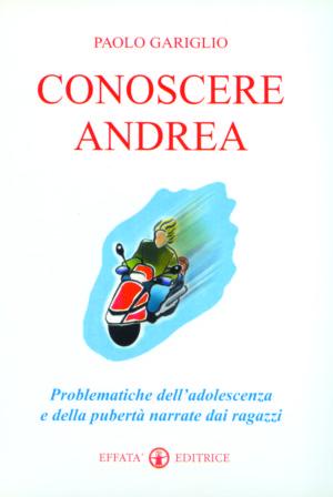 Copertina del libro Conoscere Andrea