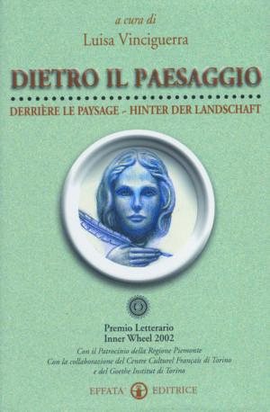 Copertina del libro Dietro il paesaggio