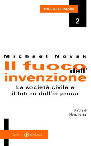 Copertina del libro Il fuoco dell'invenzione
