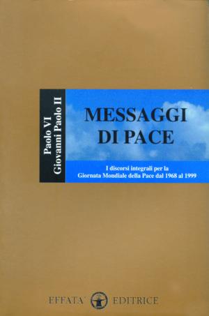 Copertina del libro Messaggi di pace