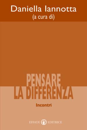 Copertina del libro Pensare la differenza