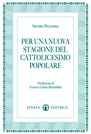 Copertina del libro Per una nuova stagione del cattolicesimo popolare