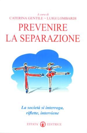 Copertina del libro Prevenire la separazione