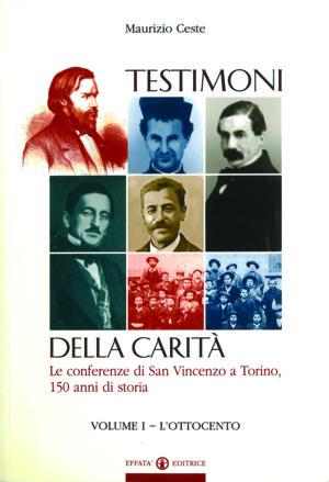 Copertina del libro Testimoni della carità