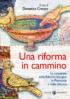Copertina del libro Una riforma in cammino