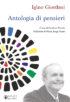 Copertina del libro Antologia di pensieri