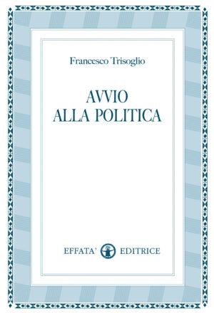 Copertina del libro Avvio alla politica