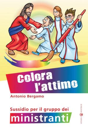Copertina del libro Colora l'attimo