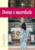 Copertina del libro Donna e sacerdozio