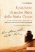 Copertina del libro Epistolario di madre Maria della Santa Croce