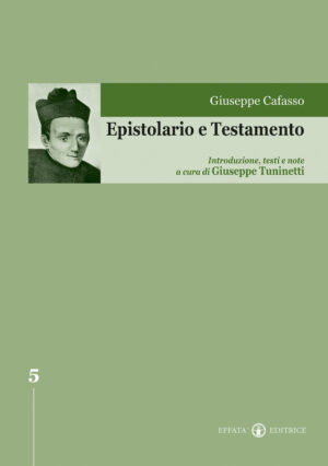 Copertina del libro Epistolario e Testamento