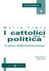 Copertina del libro I cattolici oltre la politica