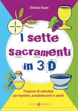 Copertina del libro I sette sacramenti in 3D