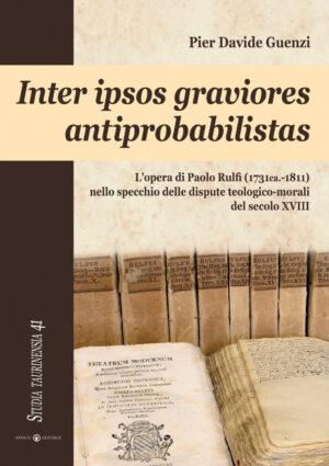 Copertina del libro Inter ipsos graviores antiprobabilistas