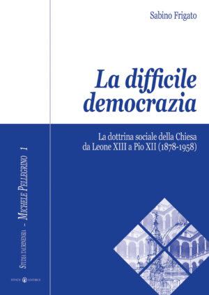 Copertina del libro La difficile democrazia