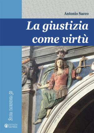 Copertina del libro La giustizia come virtù