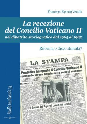 Copertina del libro La recezione del Concilio Vaticano II