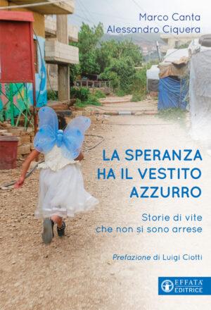Copertina del libro La speranza ha il vestito azzurro