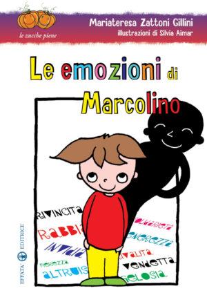 Copertina del libro Le emozioni di Marcolino