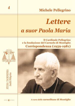 Copertina del libro Lettere a suor Paola Maria