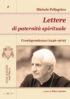 Copertina del libro Lettere di paternità spirituale