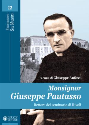 Copertina del libro Monsignor Giuseppe Pautasso