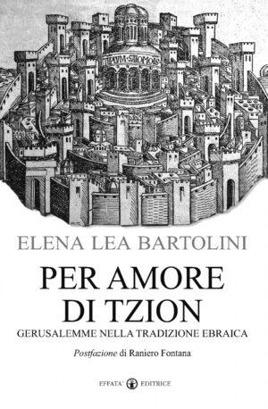Copertina del libro Per amore di Tzion