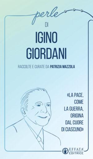 Copertina del libro Perle di Igino Giordani