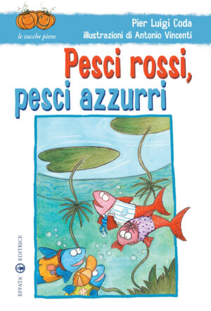 Copertina del libro Pesci rossi, pesci azzurri