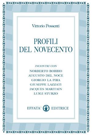 Copertina del libro Profili del Novecento