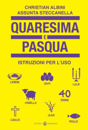 Copertina del libro Quaresima e Pasqua