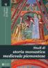 Copertina del libro Studi di storia monastica medievale piemontese