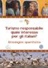Copertina del libro Turismo responsabile: quale interesse per gli italiani?