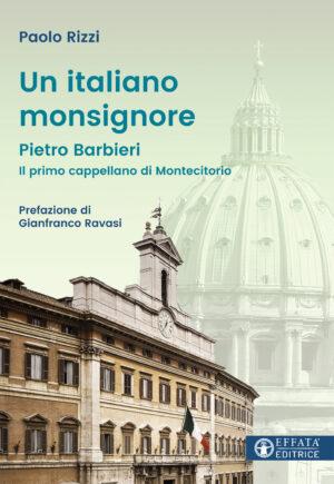 Copertina del libro Un italiano monsignore
