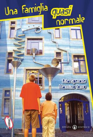 Copertina del libro Una famiglia quasi normale