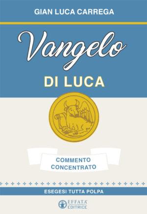 Copertina del libro Vangelo di Luca