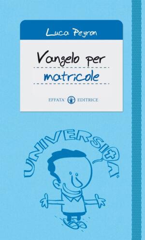 Copertina del libro Vangelo per matricole