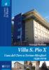 Copertina del libro Villa S. Pio X